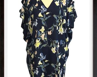 "caftan / tunic ""Lisa"" with handmade shoulder details"