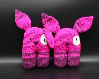 Crochet by Mühlmann One Too - bunny rattle Bunny rattle
