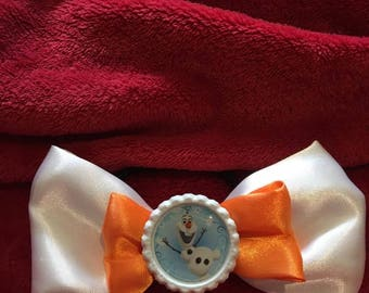 Disney Olaf Frozen Inspired Hair Bow