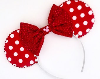 The Minerva - Handmade Mouse Ears Headband