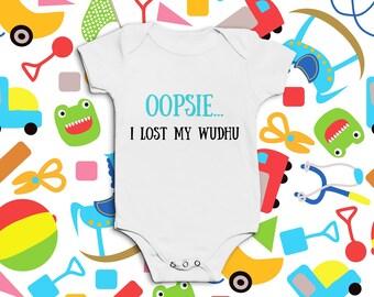 Oopsie... I Lost My Wudhu Baby Onesie