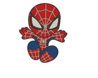 Superhero Spider Man Spiderman Embroidery Designs Embroidery Machine Instant Download Q8102
