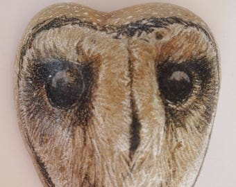 Sooty Owl Rock/Paperweight