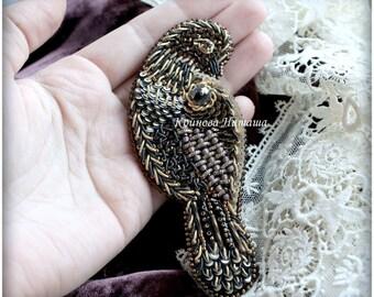 Brooch Birdie