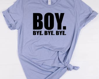 Boy Bye. Bye. Bye. tee // Boy Band Shirt // New Kids On The Block // NKOTB
