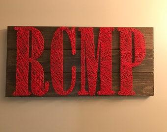 RCMP String Art