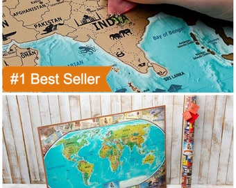 Valentines Map Gift, World Map Gift, Map Wall Poster, World Map Poster, Boy Gift, Gifts For Teen Boys, Teenage Boy Gifts, Gift For Teen, Gif