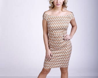 Vintage Style Bodycon Dress