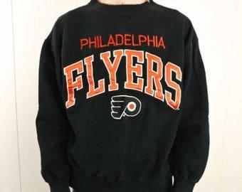 Vintage Philadelphia Flyers Sweatshirt Size Men's L