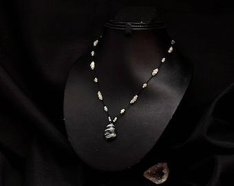 Kiabate Zebra Jasper necklace