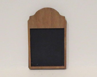 Miniature Dollhouse Chalk Board 1:12 Scale