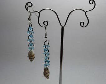 Earrings with Shell