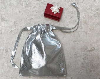 smallbags Voile type silver blade - 3 sizes - reusable bags - zero waste