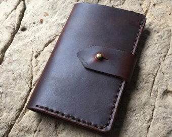 Leather field notes cover + FREE Field Notes Book and personalization, leather journal, passport cover