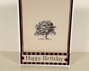 Birthday Card - Masculine Birthday Card