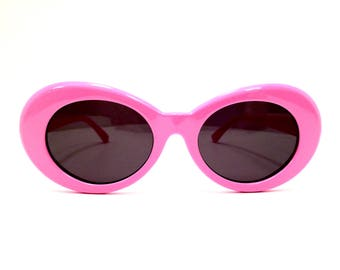 Pink Kurt Cobain Sunglasses Cat Eye Sunglasses Cateye Sunglasses Catseye Sunglasses Cat Eye Glasses Cat Eye