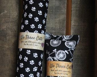 We Three Cats Catnip Kickers Black and White Patterns