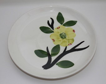 Blue Ridge Pottery Dixie Dogwood Saucer