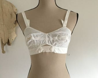 Vintage 1950's Patented Bullet Bra by Maiden Form