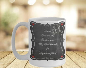 Special Mug For Mom His Her Mug- If You Can Read This Mom I Love You Mug- Mom From Son Worlds Greatest Gift Personal Mugs- Mama Bear Mugs