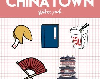 Chinatown Sticker Pack