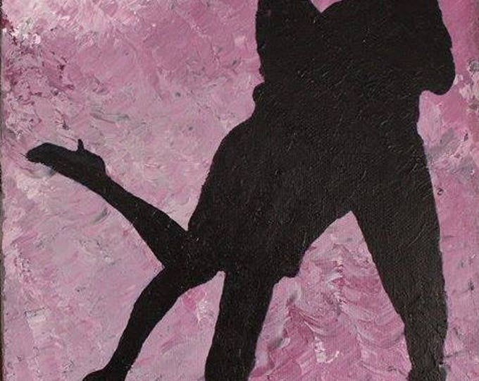 Tango 24x30cm Original Dance Painting