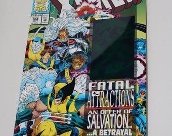 Uncanny X-Men 304 Comic Book Vintage 1993 XMEN Wolverine Magneto Hologram Cover