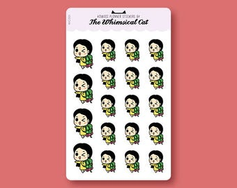 WCS001 | Backpacker Planner Stickers, Backpacking Planner Stickers, Roadtrip Planner Stickers, Adventure Planner Stickers
