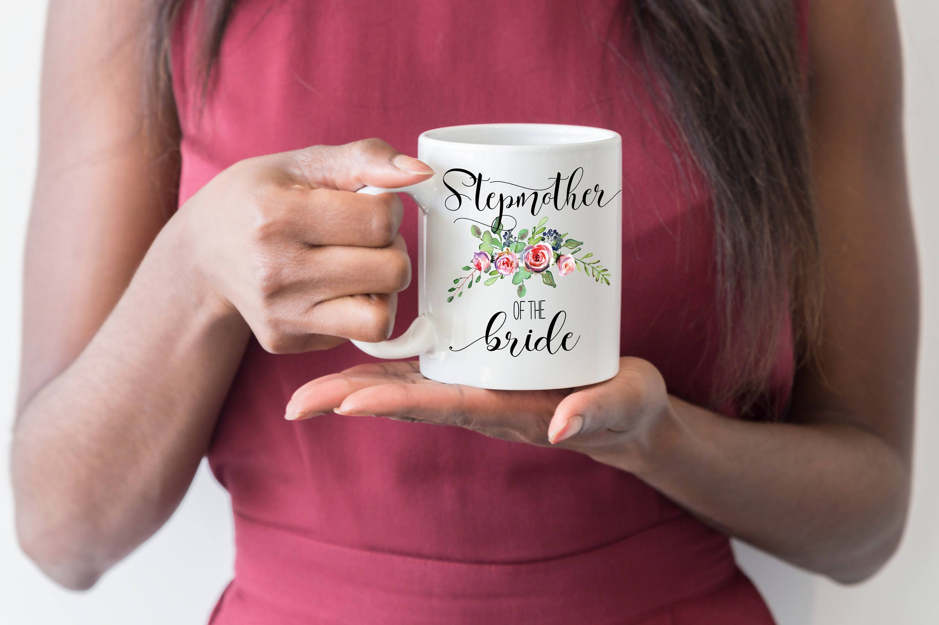 Wedding Gift For Dad And Stepmom: Stepmother Of The Bride Mug Stepmother Wedding Gift Stepmom