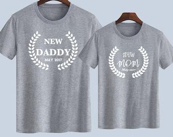 New Couple Unisex T shirts Baby shower t-shirts Gift for her t shirts Gift for Him T shirts T-shirts for women Mens T shirt Women T-shirts