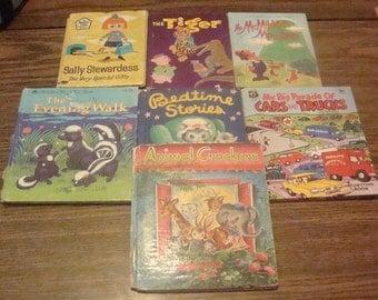 9 Vintage Childrens books