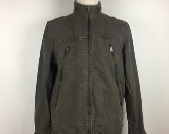 VENTINA Design Japan Work Wear Jacket France Luxury Designer US XL