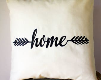Rustic Farmhouse Decor, Farmhouse Decorative Pillows, Fixer Upper Pillows, Magnolia Market Pillows, Joanna Gaines Style, 18x18 Home Pillow