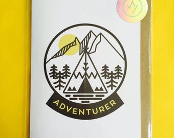 Adventurer A6 Card with Envelope