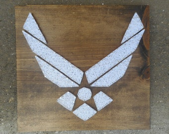 DIY Air force String Art Kit