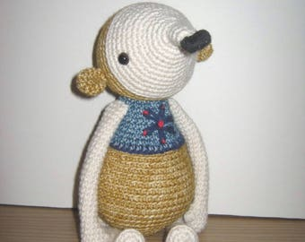 Handmade, Crochet Toy, Soft Toy, Stuffed Animal, Amigurumi - Molly