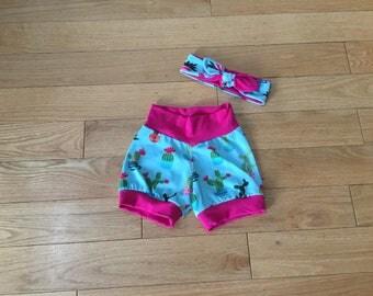 Cactus Cuffed Shorts