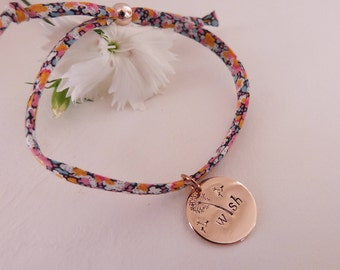 Rose Gold Wish Liberty Bracelet