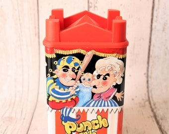 Retro Punch And Judy Tin - Retro Storage