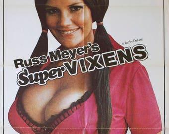 "Movie poster ""Super Vixens""-Original"