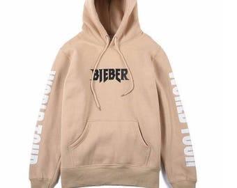 Justin Bieber Hoodie / Bieber shirt / Justin Bieber / Forever Justin Bieber / Purpose tour / Size M L XL XXL / FREE Worldwide Shipping