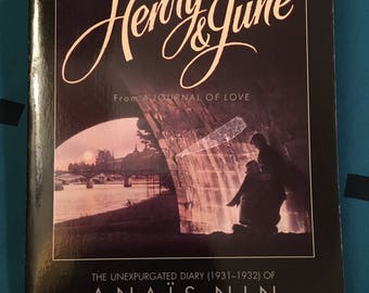 Henry & June by Anais Nin - 1989 paperback