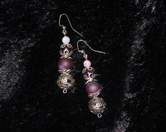 Classic Violet Earrings