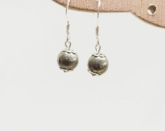 Pyrite earrings