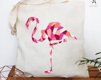 Tote bag Flamingo Pink