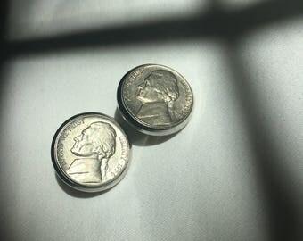 Nickel clip earrings