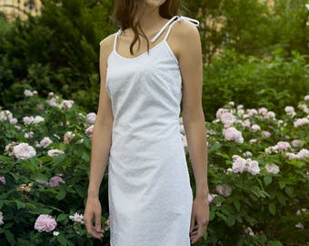 SUNNY white dress