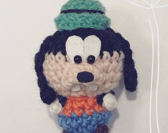 Goofy, Amigurumi, Walt Disney, crocheted Figurine, Presentidea, cartoon, figurine, Charakter, disney, doll, kawaii, cute