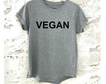 Vegan Clothing, Vegan Shirt, Vegan Gift, Vegan T-Shirt, Vegan Tee, Womens Shirt, Womens T-Shirts, Christmas Gift