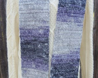 Women's Crochet Scarf